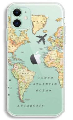 Luxury World Map Travel Soft TPU Phone Case For Iphone 11 Pro XR XS Max Clear Silicone Cover For Iphone 6 7 8 Plus - Polarreut kamaras bemalung Rollschuhe und Airpods - Phonecases Diy Iphone Case, Iphone Phone Cases, Iphone Case Covers, Clear Phone Cases, Girly Phone Cases, Pretty Iphone Cases, Glitter Wallpaper Iphone, Wallpaper Backgrounds, Phone Cases