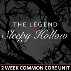 The Legend of Sleepy Hollow Unit - 2 Weeks - CCSS by Teach with Mark and Elyse Daily Lesson Plan, Lesson Plans, Writing Assessment, Assignment Sheet, Legend Of Sleepy Hollow, Text Dependent Questions, Writing Assignments, Unit Plan, American Literature