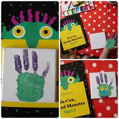 grand-monstre-vertCollage                                                                                                                                                                                 Plus Bricolage Halloween, Halloween Crafts, Big Green Monster, Grade 1 Art, Social Emotional Activities, Preschool Boards, Movie Crafts, School Themes, School Ideas