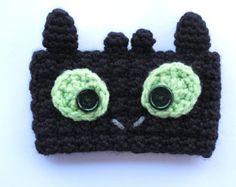 Crochet Toothless Coffee Cup Cozy by TheEnchantedLadybug on Etsy