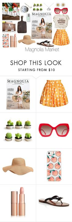 """""""Magnolia Market"""" by tfqstudios on Polyvore featuring Alice + Olivia, Old Navy and Kate Spade"""