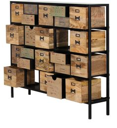 Buy Cowal Chest of Drawers in Multi-Colour by Bohemiana Online - Eclectic - Chest of Drawers - Pepperfry