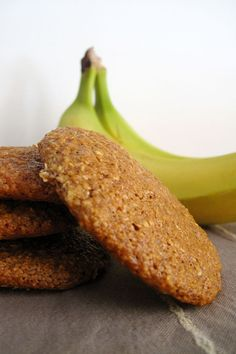 Sweets Recipes, The One, Healthy Snacks, Food And Drink, Gluten Free, Banana, Foods, Couture, Cookies