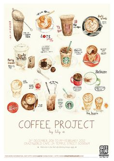 Coffee Project Exhibition by lilyx