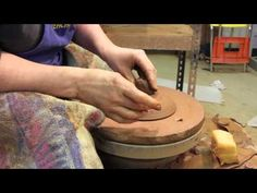 Trim the Lid, Throw a Knob - How to Make a Pottery Casserole -Part 4