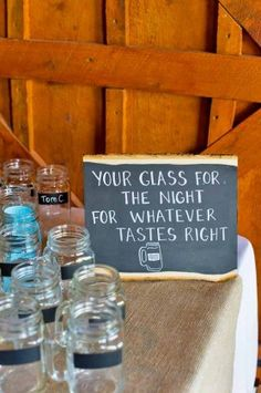 rustic wedding signs brittany anderson photography