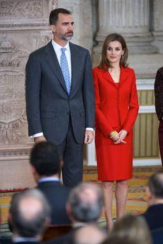 Queen Letizia of Spain Photos - Spanish Royals Attend Investigation National Awards - Zimbio