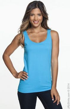 Anvil 882L Ladies' Lightweight Tank - JiffyShirts.com