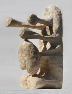 Ryosuke Yazaki - Wood sculpture