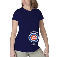 fa40cc26 Chicago Cubs Maternity T-Shirt by Soft as a Grape « Clothing Impulse Cubs  Merchandise