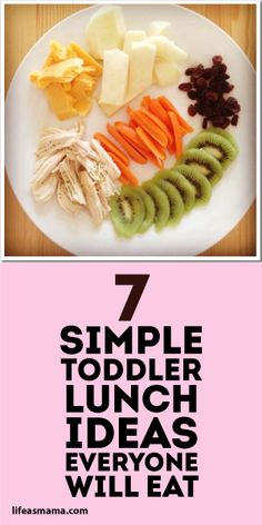 7 Simple Toddler Lunch Ideas Everyone Will Eat