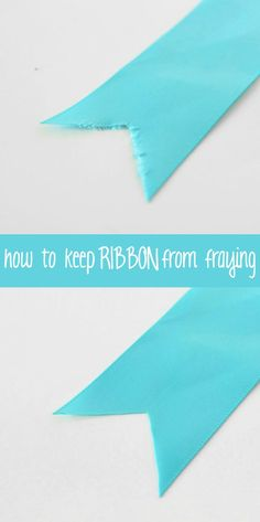 IPinner says: I'm going to be indebted forever to The Experimental Home for this fabulous tutorial on How to Keep Ribbon from Fraying . Ribbon Crafts, Fabric Crafts, Sewing Crafts, Sewing Projects, Paper Crafts, Cute Crafts, Diy Crafts, Diy Simple, Sewing Hacks