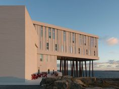 Image result for fogo island hotel architect