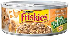 Purina Friskies Tasty Treasures Wet Cat Food - 24-5.5 oz. Cans >>> Click image for more details.