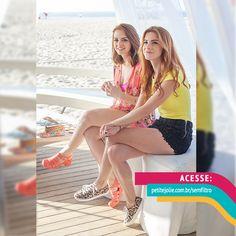 Maddu Magalhães e Karol Pinheiro são as estrelas da segunda temporada da websérie Petite Jolie Sem Filtro. Assista em www.petitejolie.com.br/semfiltro