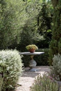"""Love this nook in the garden! Creating little living rooms in your garden adds""""  """"of a garden. Here, that's exactly what's going on!"""""""