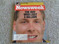 Newsweek Magazine The Boy who lost a billion March 13, 1995