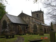 The Norman church at Penwortham