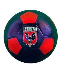 Take a look at this D.C. United Mini Soccer Ball by Foamheads on #zulily today!