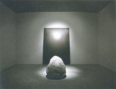 Lee Ufan, Silence Room , Lee Ufan Museum in Naoshima, Japan