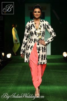 Parineeti Chopra in Masaba at Lakme Fashion Week 2013