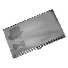 Port card personalizat prin gravura foto+text