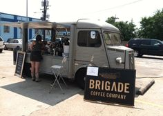 The Brigade Coffee Co. truck in New Orleans. Great set up.