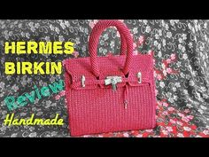 Как вязать крючком сумку Hermes Birkin часть 1 - YouTube