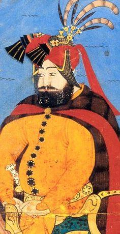 Sedef's Corner: Reading History Through Jewellery Equestrian Portrait of Sultan Murad IV, (Topkapi Palace Museum) Islamic World, Islamic Art, Murad Iv, Sultan Murad, Bagdad, India Painting, Illustration, Arabian Nights, Ottoman Empire