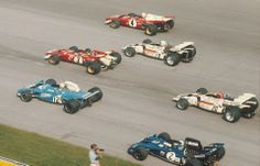 Start of the 1971 Italian Grand Prix Clay Regazzoni - Ferrari Jacky Ickx - Ferrari Chris Amon - Matra Howden Ganley - BRM Peter Gethin - BRM Fancoise Cevert - Tyrrell