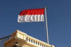 Bandera de Monaco #banderas #monaco