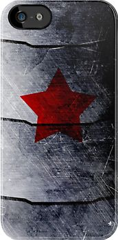 winter soldier case by morigirl I LOVE THIS SO MUCH I MUST HAVE WHEN I GET A IPHONE OR WHATEVER BUT I NEED ONE!!!!!!!!!!!!!!!!!!