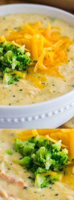 This Copycat Panera Broccoli Cheese Soup From The Recipe Critic Really Hits The Spot On Cold Winter Nights, And This Recipe Is Seriously The Best Its Creamy, Cheesy, And Filled With Delicious Veggies. Crock Pot Recipes, Hearty Soup Recipes, Slow Cooker Recipes, Cooking Recipes, Healthy Recipes, Beef Recipes, Easy Recipes, Healthy Food, Recipies