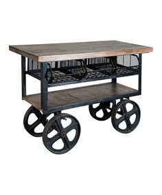 Another great find on #zulily! Trolley Bar Cart #zulilyfinds