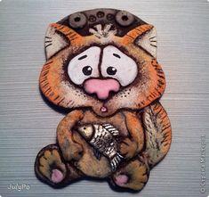 Поделка изделие Лепка Коты - они такие КОТЫ много фото Тесто соленое фото 1