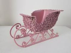 Image result for shabby chic sleigh decor