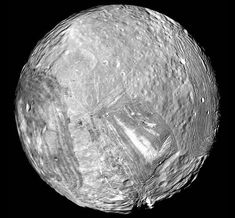 Researchers suggest they may know why the Uranus moon Miranda resembles Frankenstein's monster, a jumble of mismatched parts: Constant squeezing and stretching from Uranus caused the moon to heat up and churn.