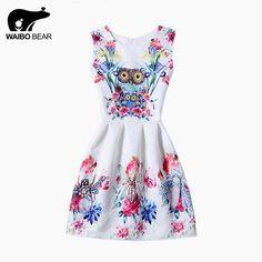 Fashion O-Neck Above Knee Tutu Women Dress Animal Pattern Printed Sleeveless Floral Ball Gown Dress Do you want it http://www.lady-fashion.net/product/fashion-2016-o-neck-above-knee-tutu-women-dress-animal-pattern-printed-sleeveless-floral-ball-gown-dress-waibo-bear/ #shop #beauty #Woman's fashion #Products
