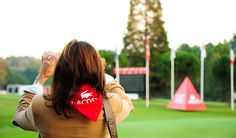 #Golf #LadiesLacosteOpen #Green #Practice #Sport Lacoste, Competition, Golf, Lady, Green, Sports, Hs Sports, Excercise, Sport