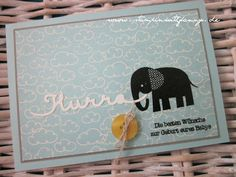 stampin with fanny: Embosste Baby cards ZOO BABIES & DP SWEET LITTLE THINGS