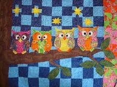 Resultado de imagem para owls quilts
