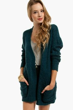 Ripple Effect Cardigan $66 at www.tobi.com Love this!