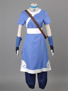 Show details for The Last Airbender Korra water tribe outfit Cosplay Costume mp000968