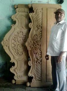 Karpaga Vinayagar Nagar,karaikudi is part of Wood carving furniture - 5 visitors have checked in at Karpaga Vinayagar Nagar,karaikudi Box Bed Design, Bedroom Bed Design, Wooden Sofa Designs, Wooden Door Design, Bed Designs, Wood Carving Designs, Wood Carving Art, Wood Beds, Woodworking Furniture