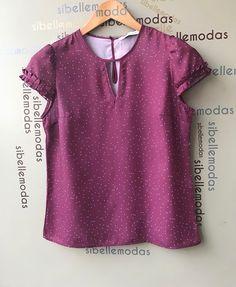 Blusa crepe mini poá  R$125,90  Tam P(38) M(40) G(42)  ▶️Compras pelo site  www.sibellemodas.com.br✔️  ▶️Aceitamos todos os cartões de crédito ▶️Cartão de crédito  06x sem juros Paypal ou 04 x sem juros Pagseguro  ▶️Desconto a vista 8% (Depósito ou Transf)  ▶️Whatsapp para dúvidas Renata (11)961837847  ▶️Frete Grátis acima R$320,00 Girl Fashion, Fashion Dresses, Womens Fashion, Sewing Shirts, Love Jeans, Stitch Fix Outfits, Sequin Dress, Everyday Fashion, Ideias Fashion