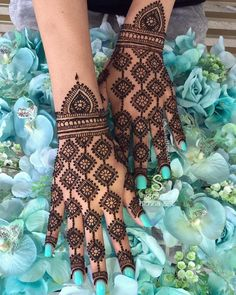 Best 11 Mehndi henna designs are always searchable by Pakistani women and girls. Women, girls and also kids apply henna on their hands, feet and also on neck to look more gorgeous and traditional. Dulhan Mehndi Designs, Mehandi Designs, Mehndi Designs Finger, Full Hand Mehndi Designs, Indian Mehndi Designs, Mehndi Designs For Girls, Mehndi Designs For Beginners, Modern Mehndi Designs, Mehndi Design Photos