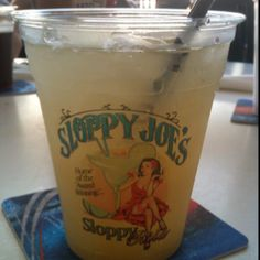 Margarita @ Sloppy Joe's - Treasure Island, Florida...come on April! Ready for their lobster mac n cheese! Been craving it since June! *:D