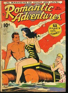 ROMANTIC ADVENTURES #4-1949-GOLDEN-AGE ROMANCE-ACG-RARE | eBay