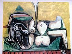 Picasso: cartel de exposición año 1967 / todocoleccion