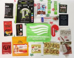 2016 RunnerBox Holiday Box www.therunnerbox.com White Almonds, Tiger Balm, Coconut Oil, Patches, Box, Holiday, Vacation, Holidays, Boxes